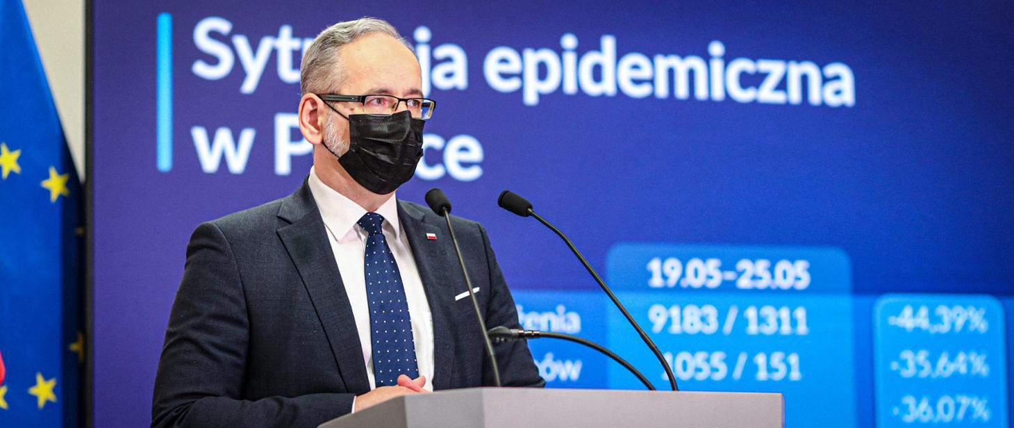 Изменение правил безопасности в Польше с 6 до 25 июня 2021 года